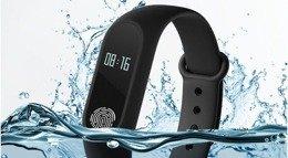 Smartwatch M2 BAND wodoodporna opaska sportowa CZARNY | Turystyka