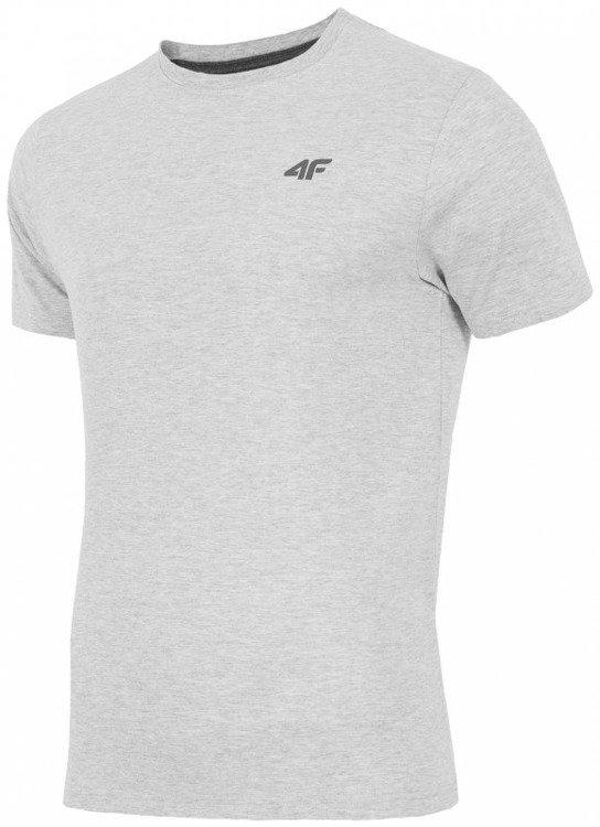 59670600c95f86 Koszulka T-shirt męski 4F j. szary H4L17 TSM002 R.XXXL   Odzież ...