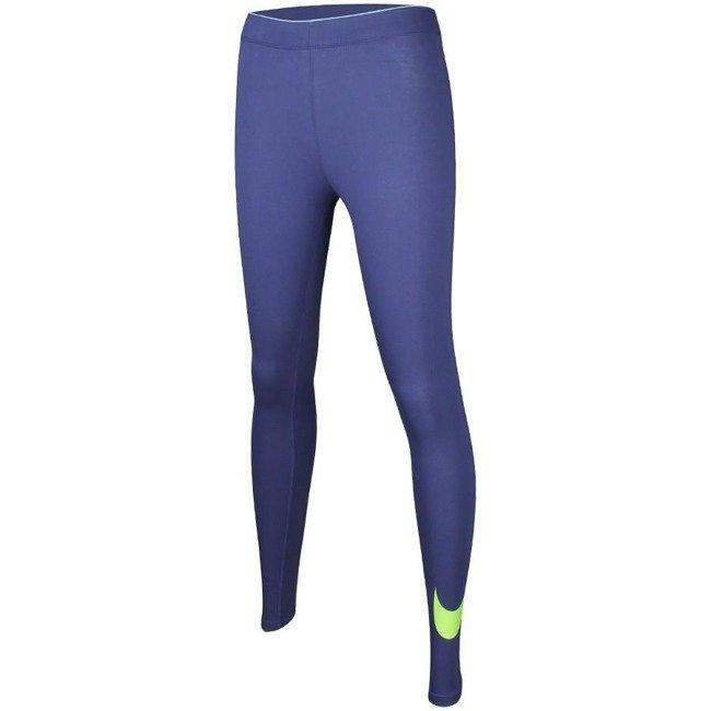 całkiem miło najnowsza kolekcja ujęcia stóp Spodnie damskie legginsy Nike NSW LEGGINS CLUB LOGO 2 815997 508
