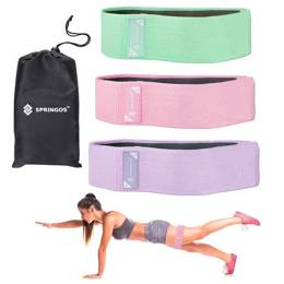 Zestaw gum fitness hip band